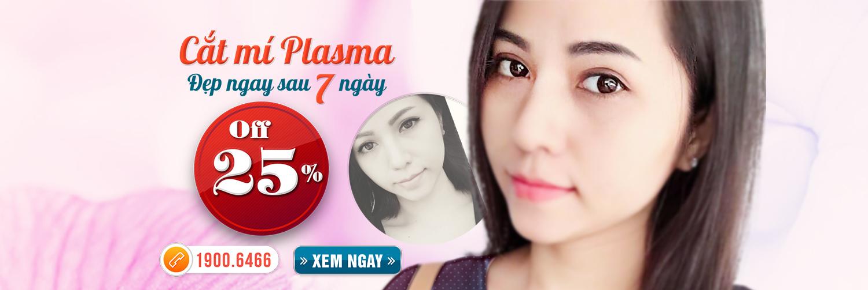 Cắt mí mắt Plasma – Đỉnh cao công nghệ cắt mí mắt 2017