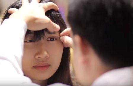 cách làm cho mắt to hơn