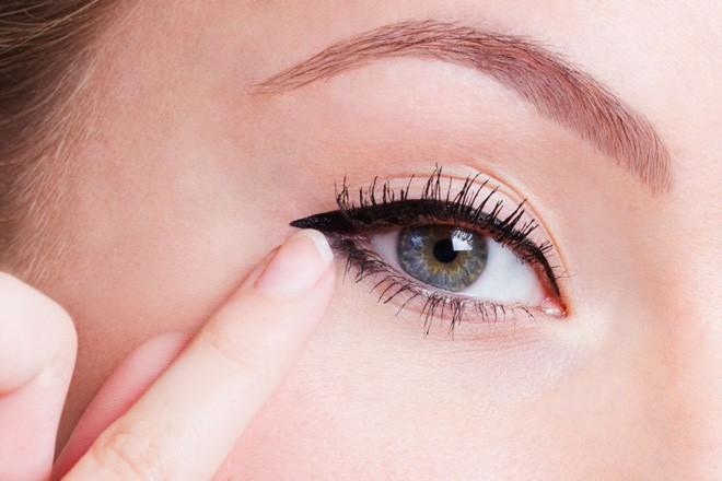 Kết quả cách trang điểm mắt Hàn Quốc nhờ kẻ mắt cún