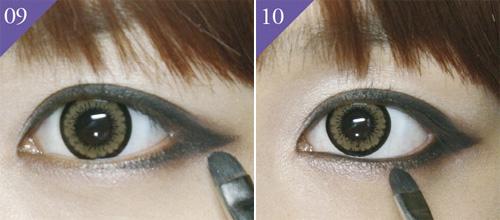 Đôi mắt đẹp với cách trang điểm mắt mèo