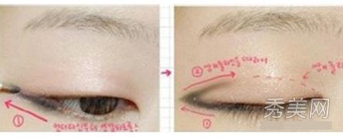 Cách trang điểm mắt mèo bằng bút chì