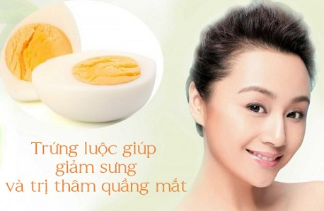 Cách trị thâm quầng mắt lâu năm bằng trứng gà luộc55 7