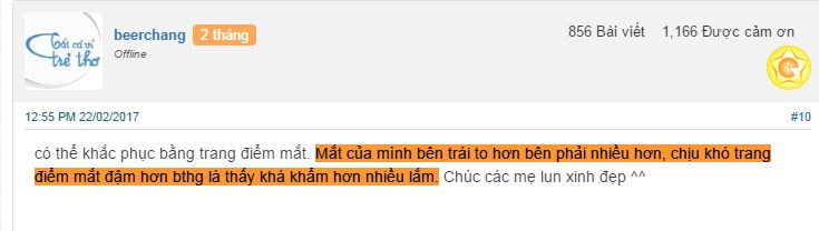 Mắt to mắt nhỏ