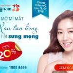 Ưu đãi sốc chào mừng 2/9! Giảm tới 30% Lấy mỡ mí mắt Hàn Quốc – Xóa tan bọng – Mắt hết sưng mọng