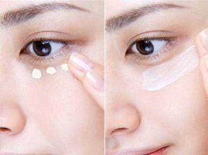 Cách chữa bọng mỡ mắt dưới 6