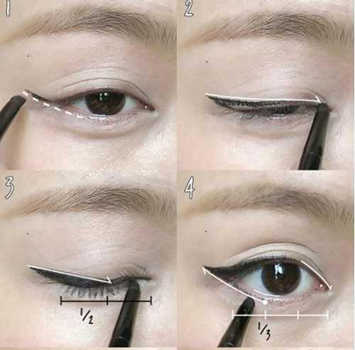 cách vẽ mí mắt