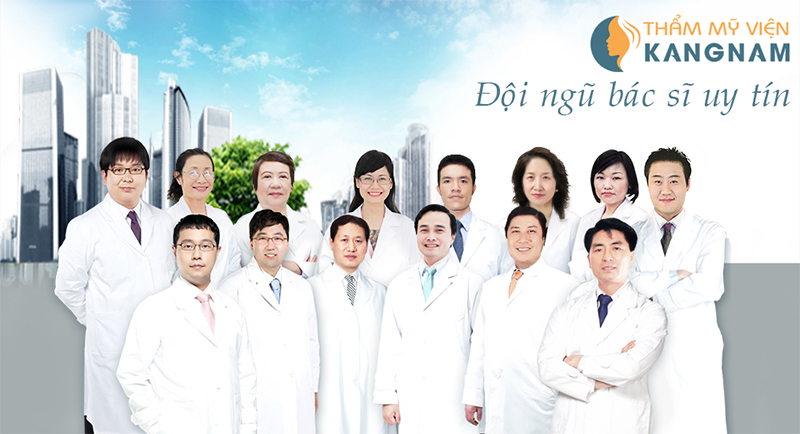 Đội ngũ bác sĩ có trình độ chuyên môn cao tại Thẩm mỹ viện Kangnam