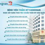 Giới thiệu chuyên khoa thẩm mỹ mắt Hàn Quốc tại BVTM Kangnam
