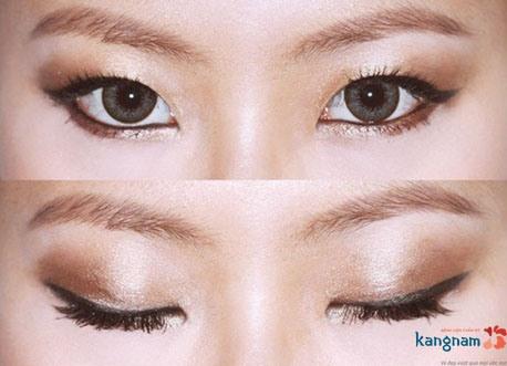 cách trang điểm cho mắt xếch 5